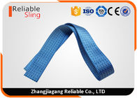 50mm Blue Polyester Striped Ratchet Strap Webbing with 5 Tons Load Capacity